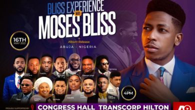 """Moses Bliss Preps for first major concert """"The Bliss Experience"""" live in Abuja 